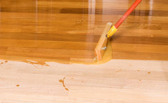 Timber floor polishing dubai