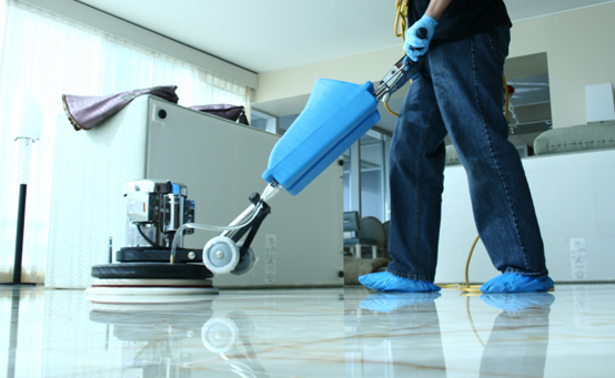 Vinyl floor polishing dubai