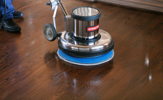 Wooden floor polishing dubai