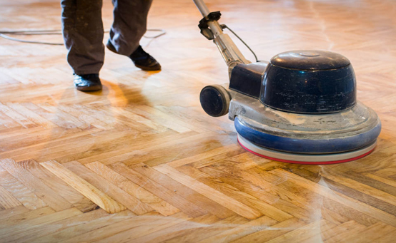 Wooden floor polishing services in dubai