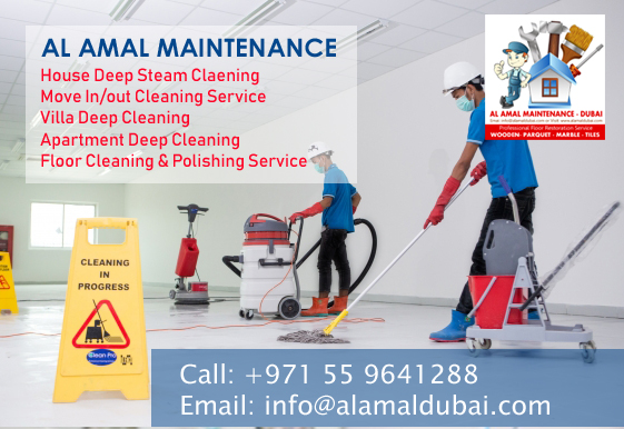 Deep cleaning services in dubai