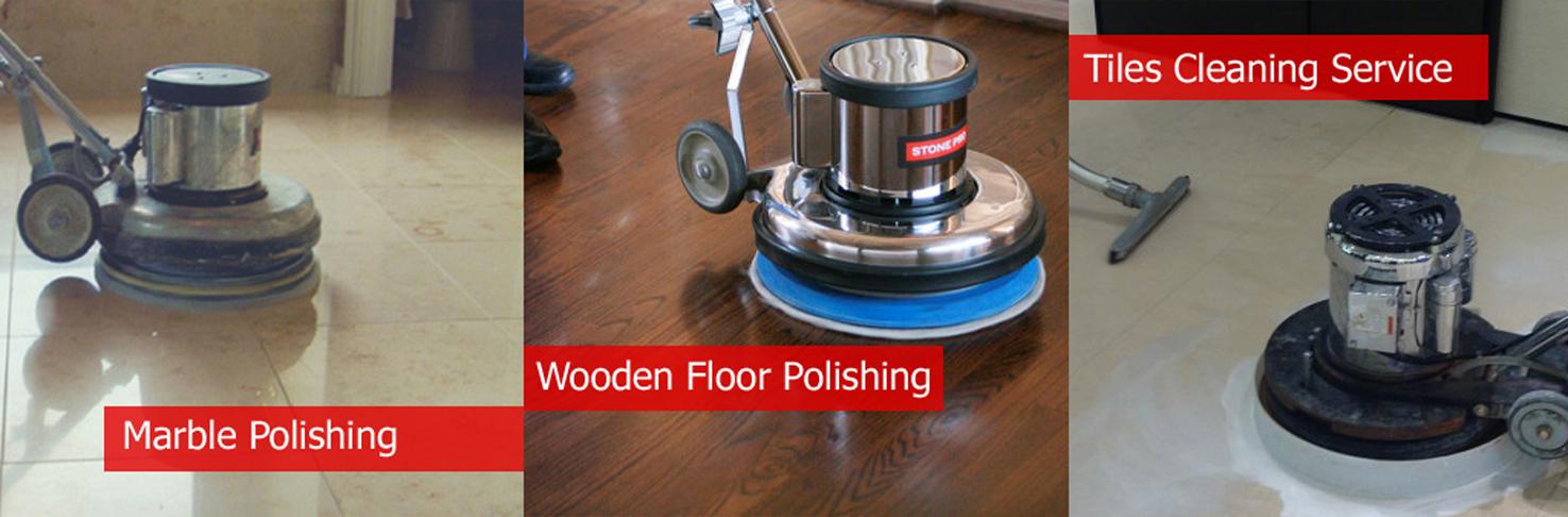 Floor Polishing Service - Wooden, Marble & Tiles Polishing